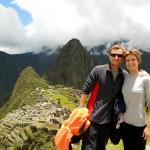 Como no ¡la foto oficial! La montaña alta al fondo es el Waynapicchu