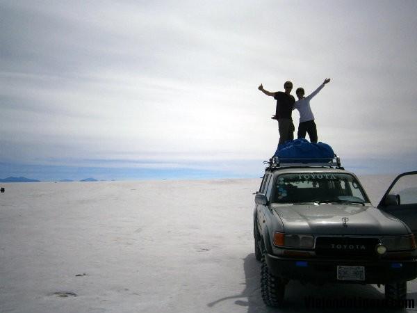 Jeep Salar de Uyuni