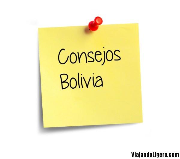 Consejos para viajar por Bolivia