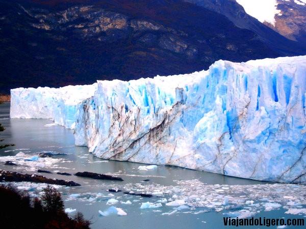 Perito Moreno lateral izquierdo