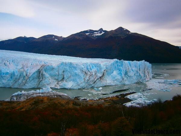 Perito Moreno, en otoño