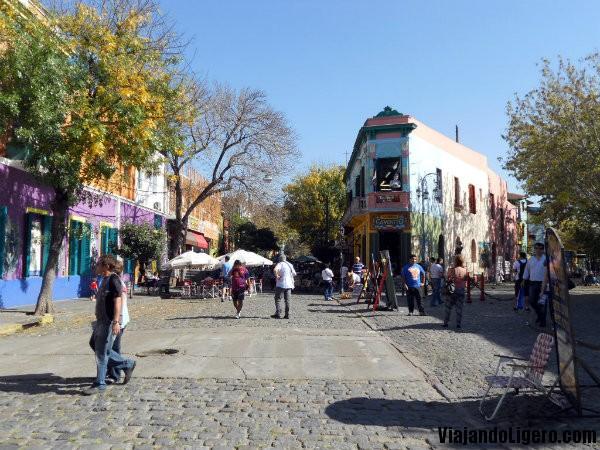 Caminito barrio de la Boca