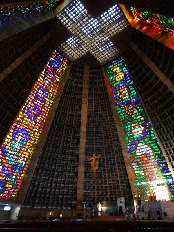 Catedral Rio por dentro
