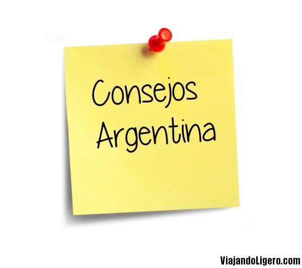Consejos para viajar por Argentina
