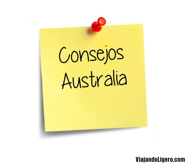 Consejos para viajar por Australia