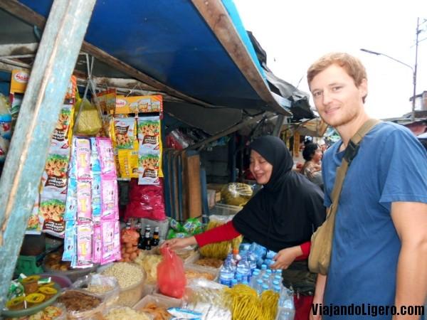 Mercado en Jakarta