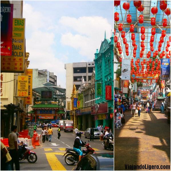 Chinatown, en Kuala Lumpur