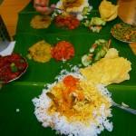 Comida india en Mamak de Malasia