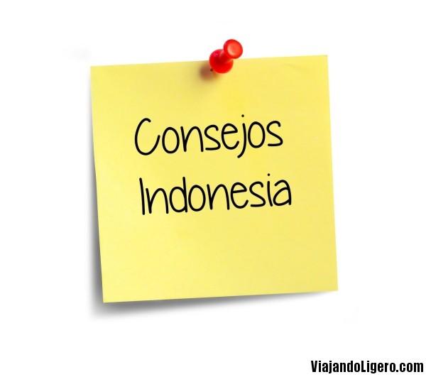 Consejos para viajar por Indonesia