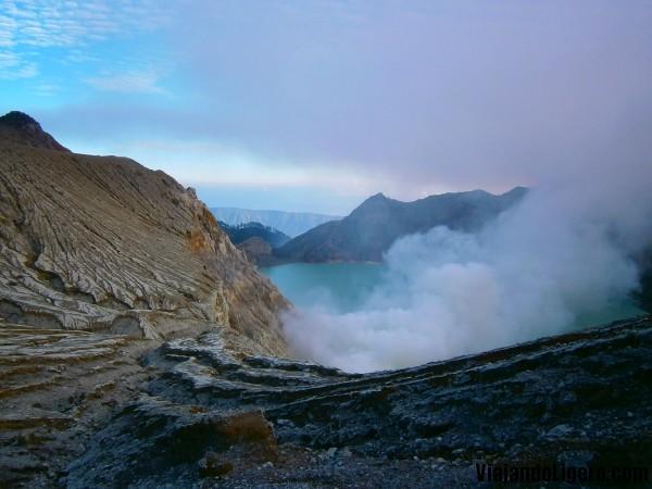 Cráter Kawah Ijen Java