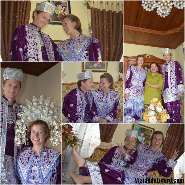 Minangkabau trajes boda tradicional