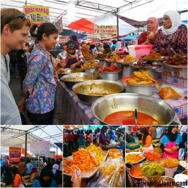 Mercado local de Bukittinggi