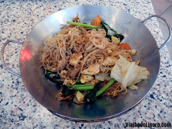 wok nasi paprik ayam