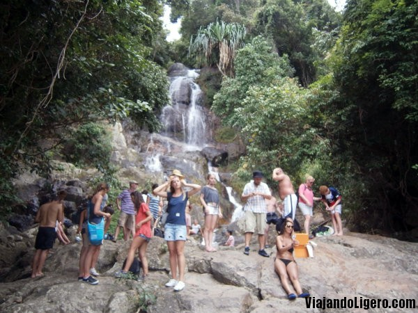 Cascada 80 metros, Koh Samui