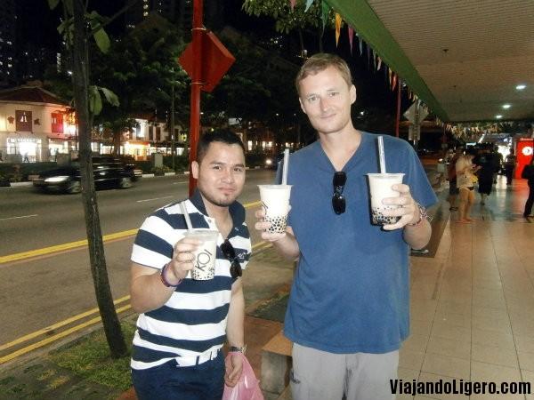 Chinatown, Bubble milk tea