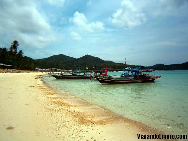 Taxi boat Haad Rin, Koh Phangan