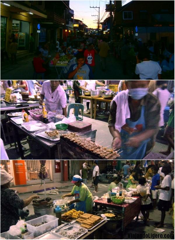Mercado de Thongsala, en Koh Phangan