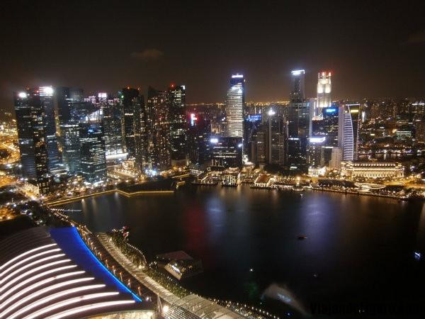 Singapur desde el Skypark