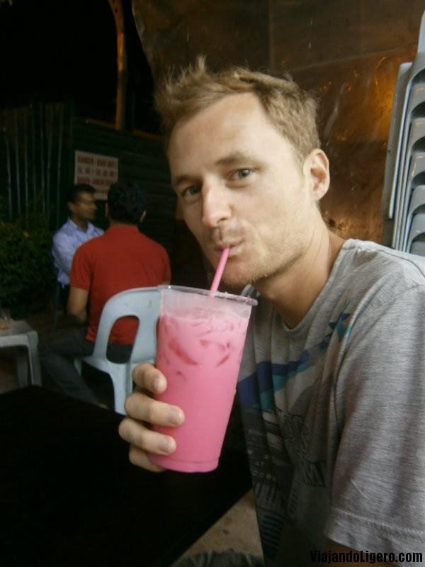 Bandung bebida de rosas