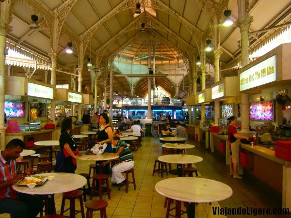foodcourt lau pa sat singapur
