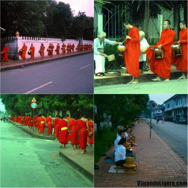 Monks Alms Luang Prabang