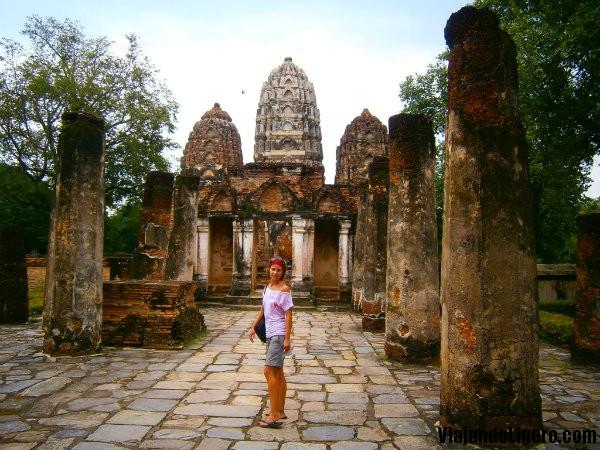 Templo Wat Si Sawai, Sukhothai Tailandia