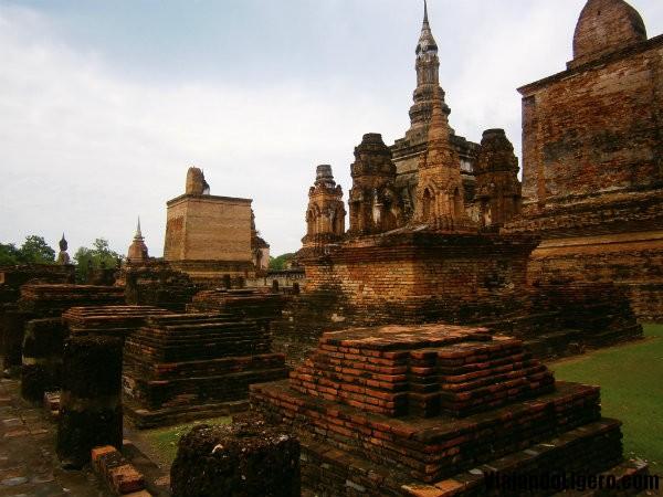 Templo Wat Mahathat Sukhothai