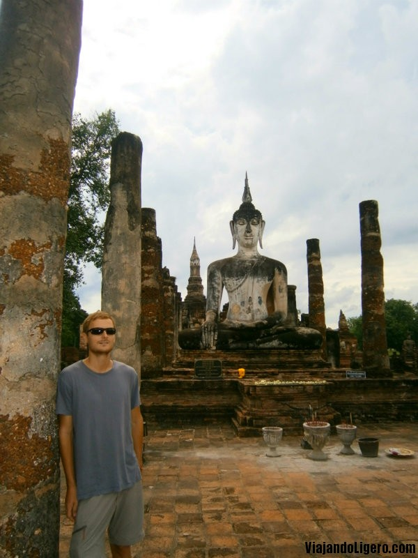 Wat Mahathat Sukhothai Tailandia