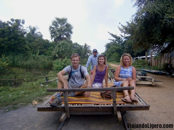 Tren bambú Battambang