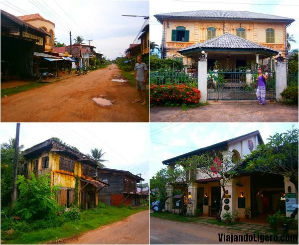 Casas de Champasak