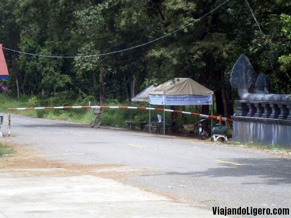 cuarentena frontera camboya