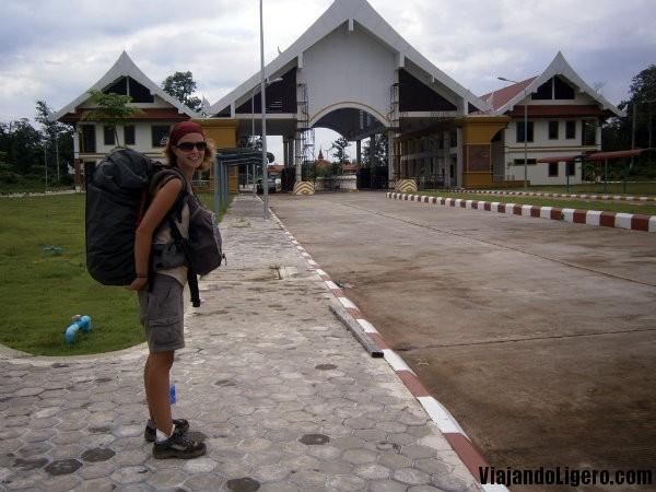Frontera Laos Camboya