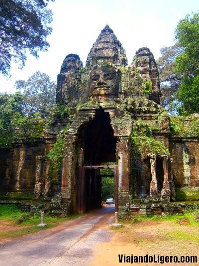Puerta Angkor Thom