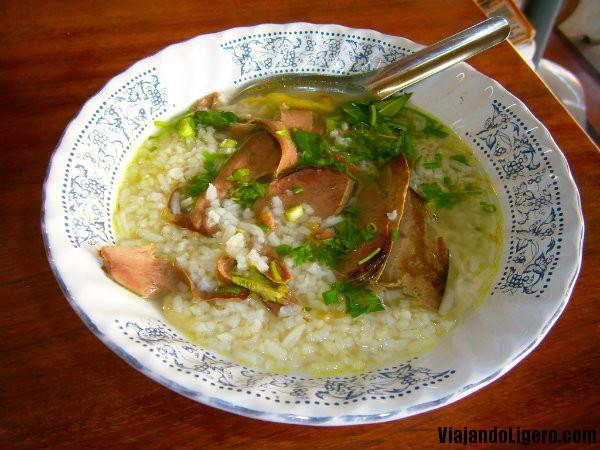 sopa de arroz laos