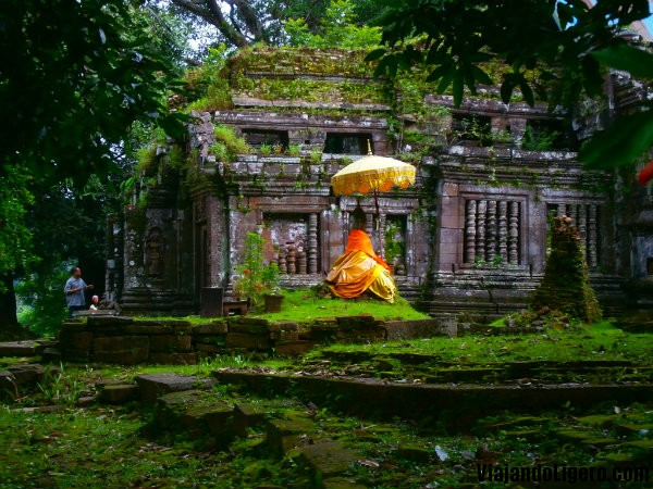 Parte alta de Wat Phu Champasak, Laos