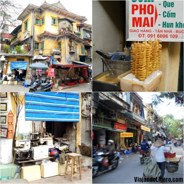 Calles en Hanoi