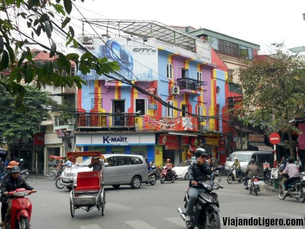 Calles Old Quarter Hanoi