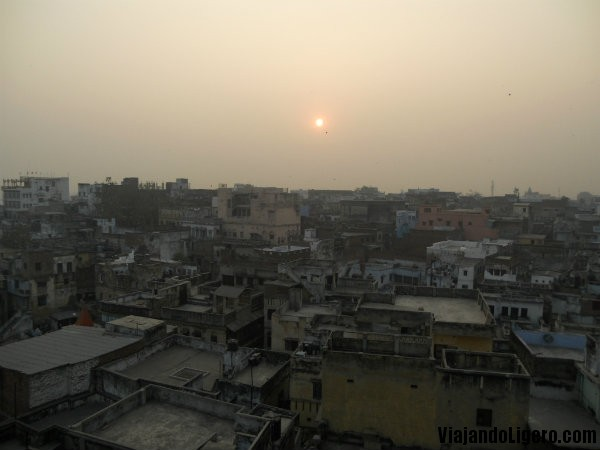 Azoteas en Varanasi