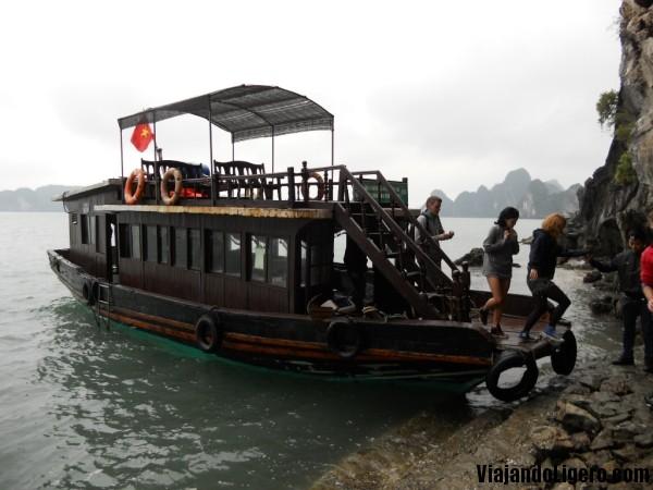 Barco Halong Bay