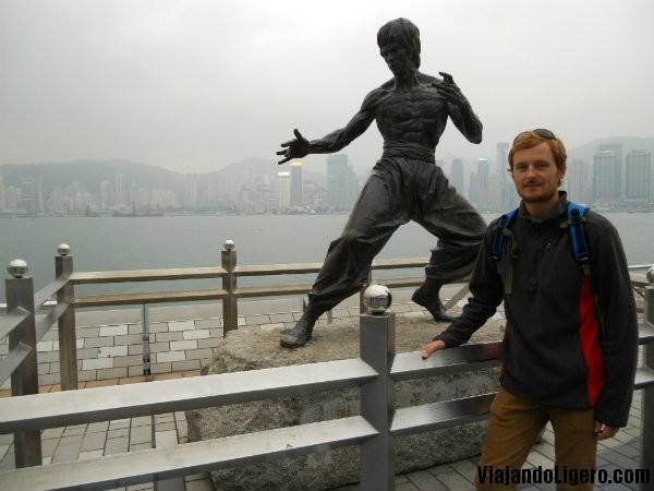Monumento Bruce Lee