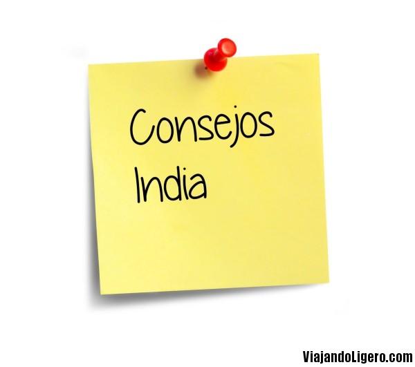 Consejos para viajar por India