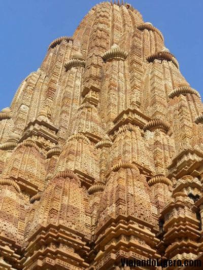 Templo Kandariya Mahadev, torre