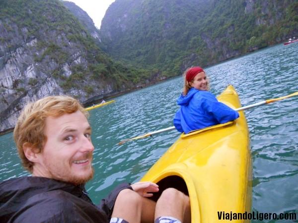 Kayak, Halong Bay