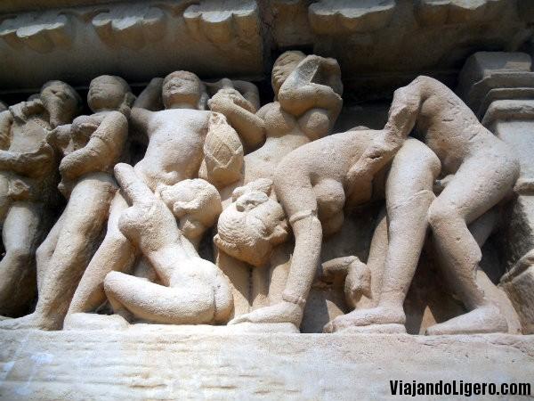Kamasutra en templo Lakshmana