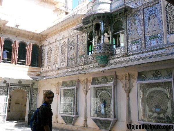 Palacio de Udaipur por dentro