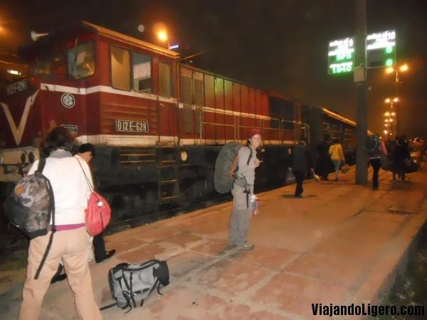 Tren nocturno, de Hanoi a Sapa