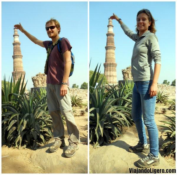 Torre de la Victoria, en Delhi