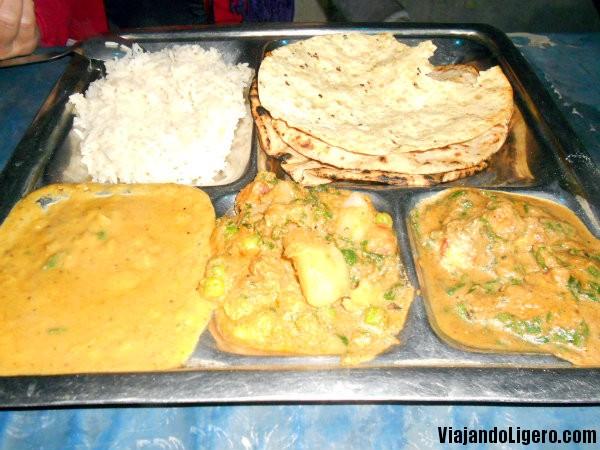 thali vegetariano