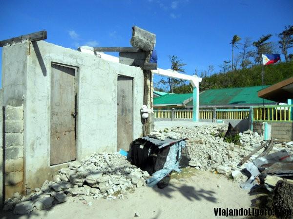 Patio de la escuela de Guimbitayan