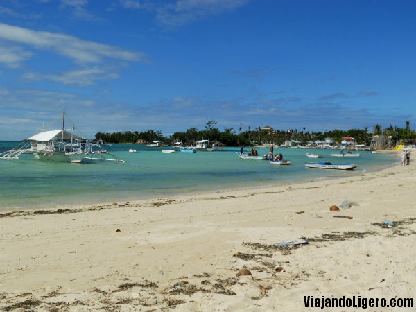 Logon beach front, Malapascua